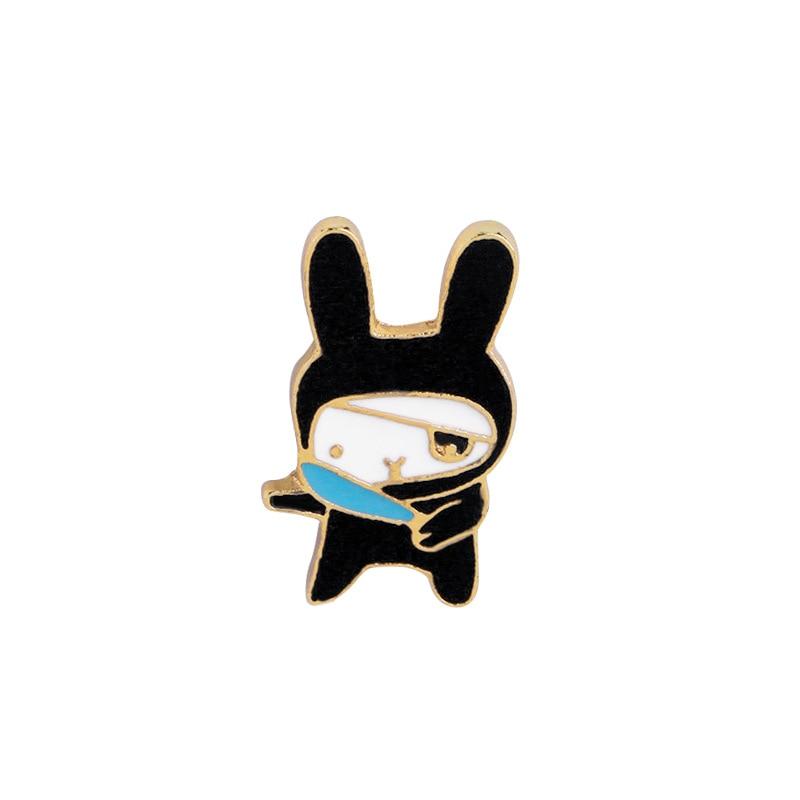 2019 Cute Cartoon Rabbit Panda Pattern Acrylic Brooches Accessories Girl Badge Pins For Women Kids Collar Hats Brooches Jewelry Brooches Jewelry Sets & More