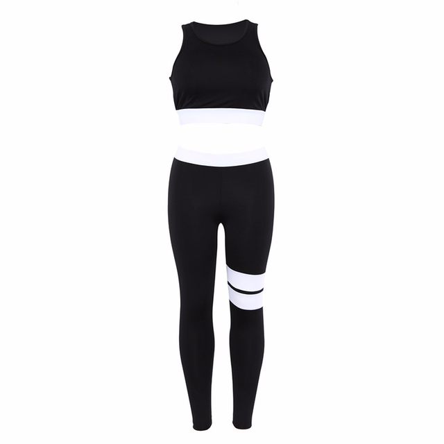 96411f6a0d8f Online Shop Women s Sports Suits Yoga Set Sports Wear Activewear for Women  Sexy Sport Suit Fitness Clothing Sets Womens Gym Clothes