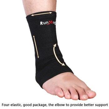 1 PC elastyczny kostki stóp wsparcie koszykówka kompresji Wrap rękawem bandaż Brace wsparcie ochrony sportowe ulgę w bólu