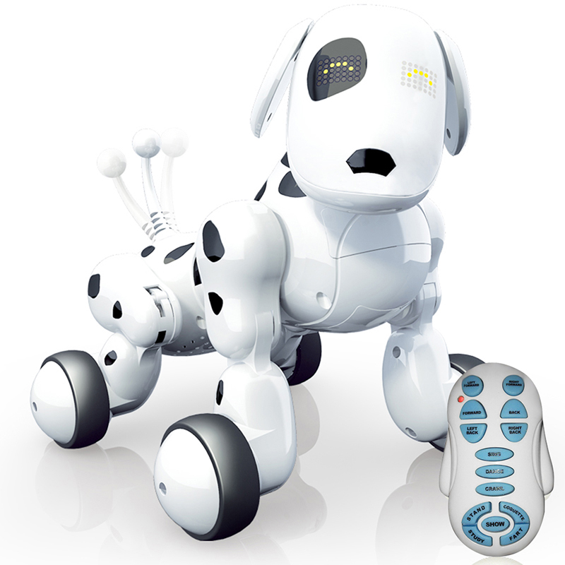 2.4G Wireless Intelligent Remote Control Robot Dog Electronic Dance Pet Music Educational Interactive Talking Toys For children