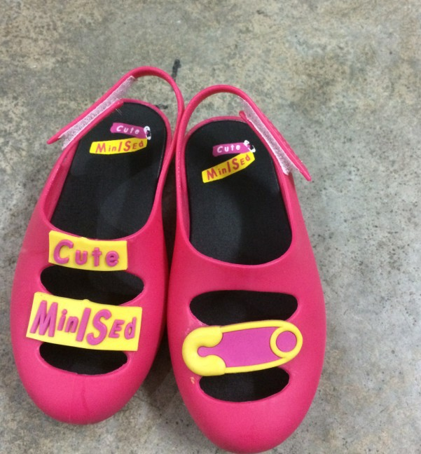 c72c3f296249 Fashion Mini Melissa Pin Jelly shoes ROCK STAR Kids Sandals NEW 2016 Design  Shoes with fragrance-in Sandals from Mother   Kids on Aliexpress.com