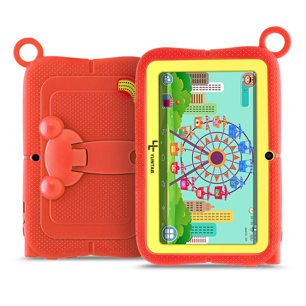 YUNTAB 7 Q88R iWawa Kids Tablet PC HD 1024 600 Display with Parental Control Software iWawa