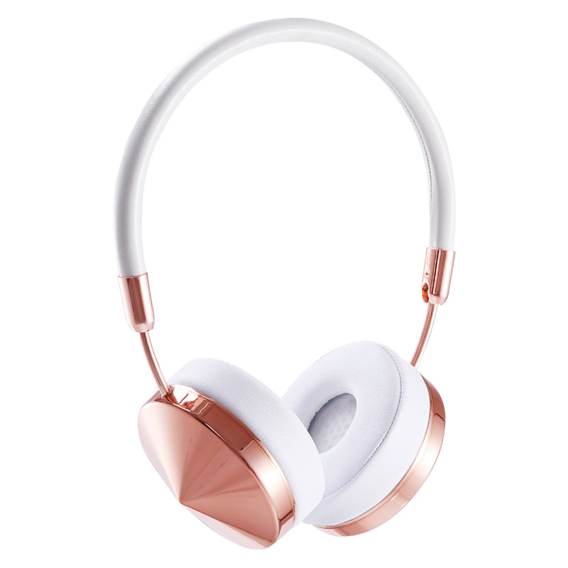 Liboer Headband Headphones High Quality Bluetooth Wireless Headphone for Girls Rose Gold Bluetooth Headphones Headset BT88 genuine leather men wallets short coin purse vintage double zipper cowhide leather wallet luxury brand card holder small purse