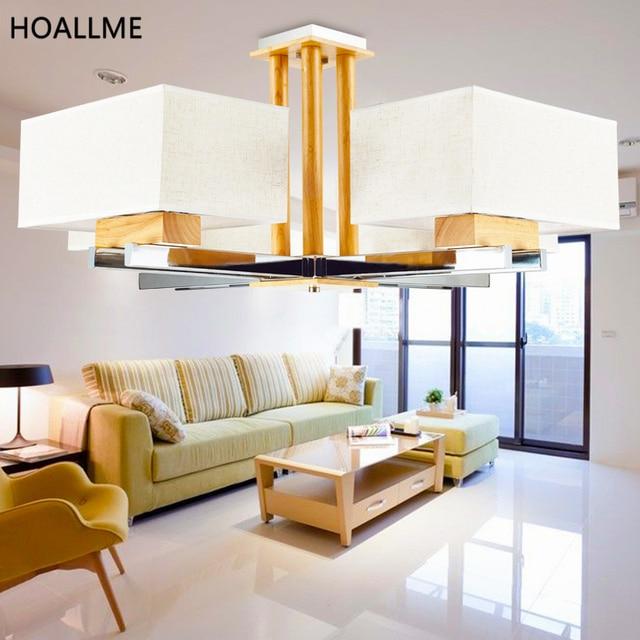Hängeleuchte Esszimmer | Led Pendelleuchten Moderne Hause Massivholz Hangeleuchte Esszimmer