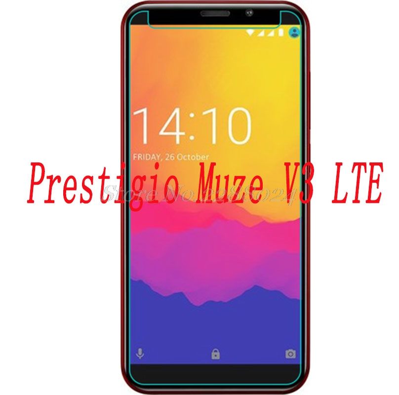Smartphone 9H Tempered Glass for Prestigio Muze V3 LTE  GLASS  Explosion-proof Protective Film Screen Protector cover phone