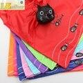 New 39.5X38CM 8Colors Cute Useful Animal Cat Fish Bone Nylon Foldable Eco Reusable Shopping Bags GB017