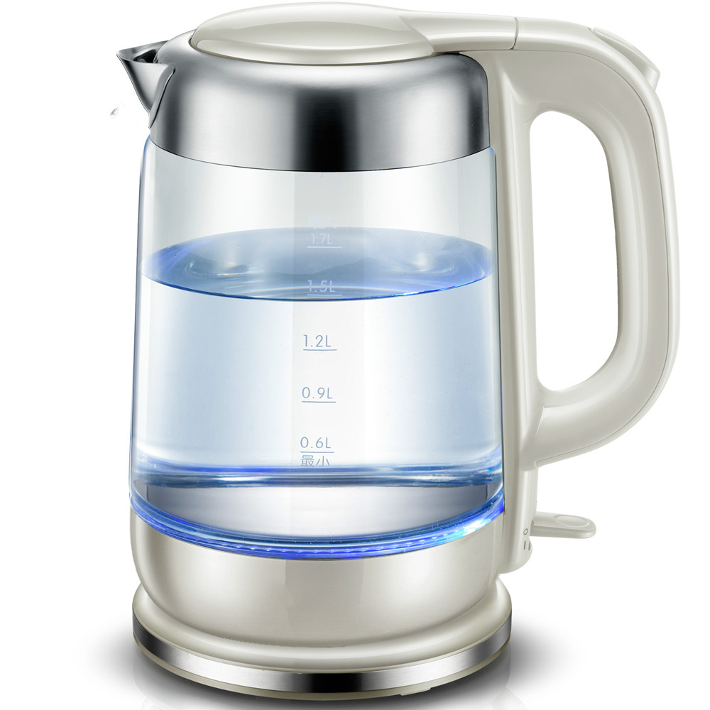 лучшая цена glass electric kettle used power automatic failure Safety Auto-Off Function
