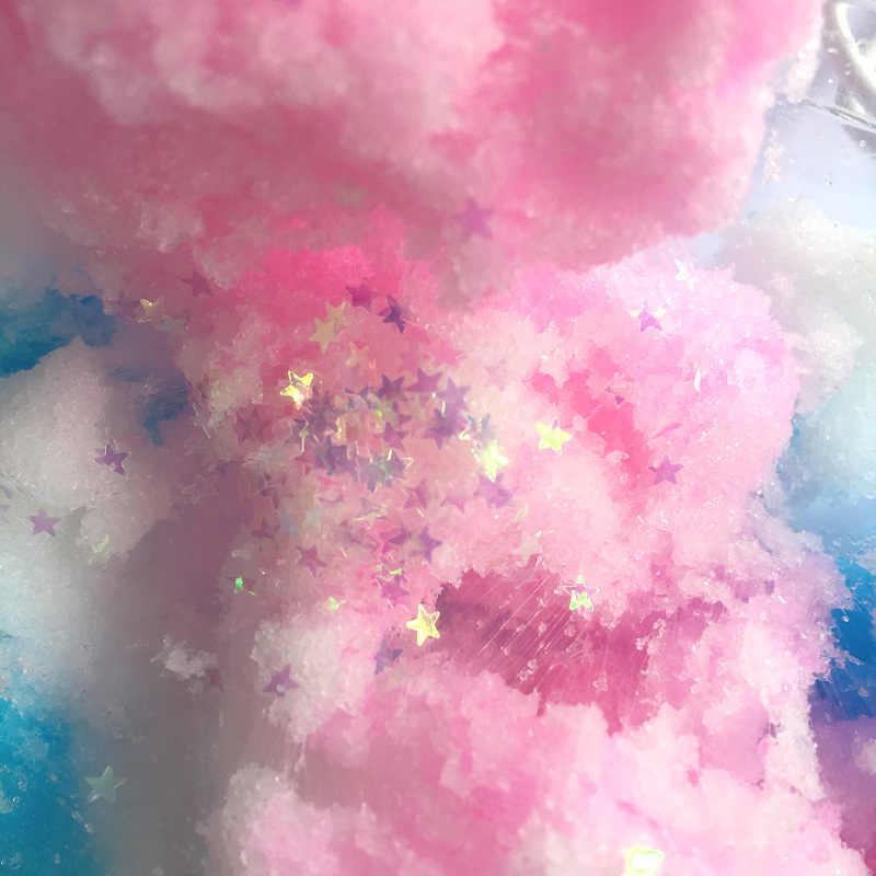 新クラウドスライムふわふわスライム粘土のおもちゃ子供虹スライムユニコーンアイスクリーム抗ストレススライムのおもちゃ子供大人