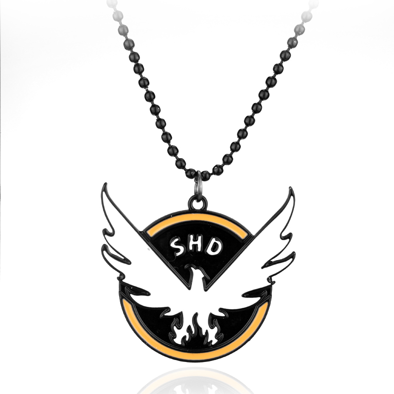 TCTD Doomsday survival science fiction adventure action third person shooter game Tom Clancy The Division SHD pendant necklace