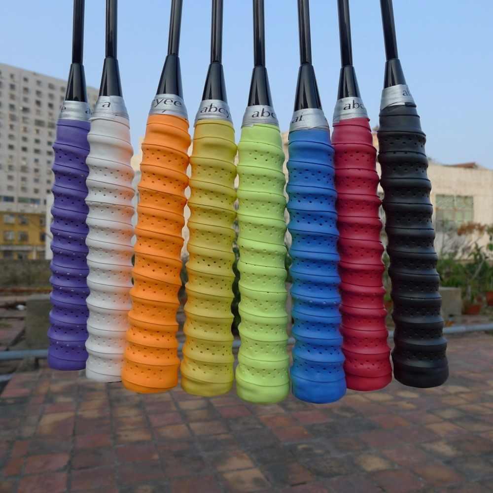 1 pc Abcyee EVA KEEL Badminton Rackets Over GripsWraps Anti-skid Sweat Absorbed Tennis Racquet soft sticky feel grip