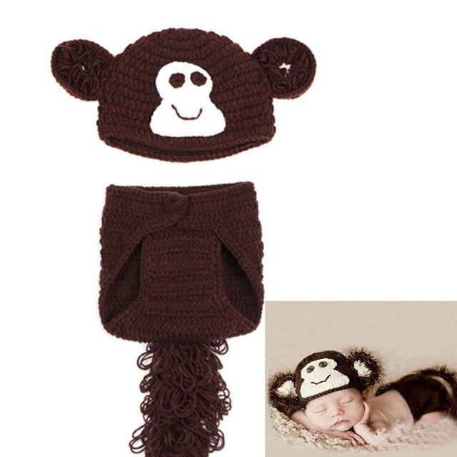 Neueste Affe Design Neugeborenen Jungen Fotografie Props Infant ...