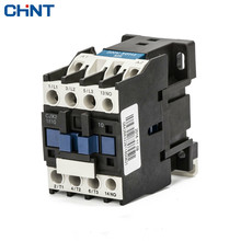 CHINT Single-phase 220V Three-phase 380V Communication Contactor Cjx2-1810 1801 18a 110V 24V