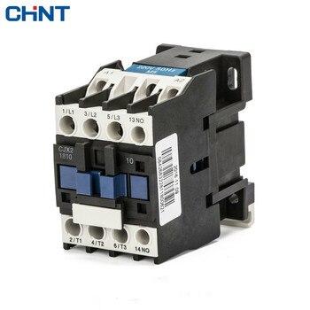 цена на CHINT Single-phase 220V Three-phase 380V Communication Contactor Cjx2-1810 18a 110V 24V