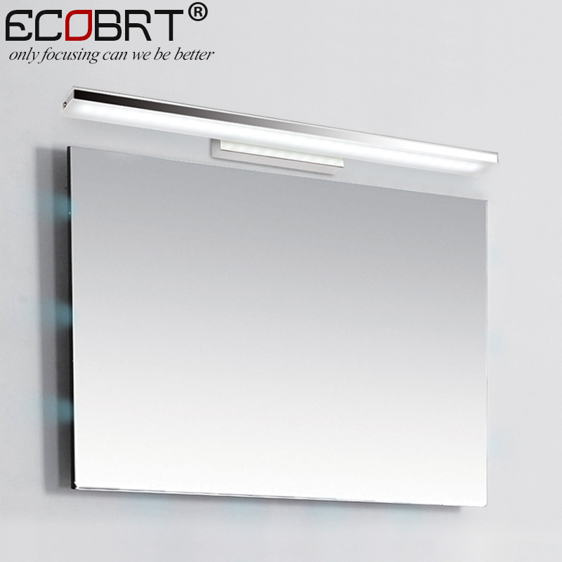 ECOBRT 12W 60CM Long LED Bathroom Wall Lights Modern Style Indoor Bedroom Sconces  Lighting Fixtures Over Mirror 110V / 220V In LED Indoor Wall Lamps From ...