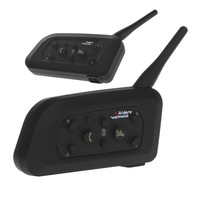 VNETPHONE 6 Riders 1200M Interphone Bluetooth Motorcycle Helmet Interphone Headset Intercom V694 Wireless Intercomunicador BT