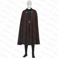 Star Wars Count Dooku Cosplay Costume Halloween Uniform Cape+Top+Pants+Belt+Shoes Cover