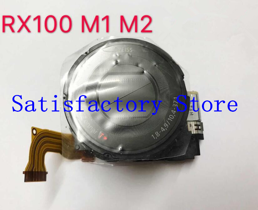 90%NEW Digital Camera Repair Parts For SONY Cyber-shot DSC-RX100 DSC-RX100II RX100 RX100II M2 Lens Zoom Unit Black NO CCD