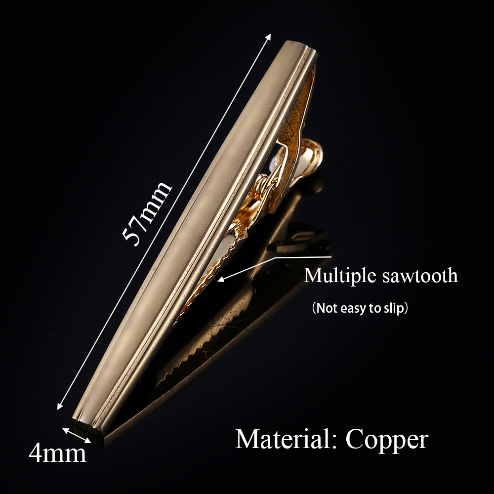 QiQiWu Men 39 s Classic Metal Tie Clip Gold Tie Pin Tie Clips For Men Tie Bar High Quality Gifts for Men Husband Christmas Gifts in Tie Clips amp Cufflinks from Jewelry amp Accessories
