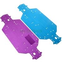Aluminum Chassis 03001 For 1:10 RC Electric On Road Drift Car HImoto Redcat HSP 94103 94123 Spare Parts