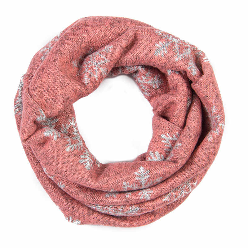 8ab8c9e05c2 One Loop Cashmere Baby Scarf Toddler Scarves Floral Leopard Print Girls  Infinity Scarf Polka Dots Kids