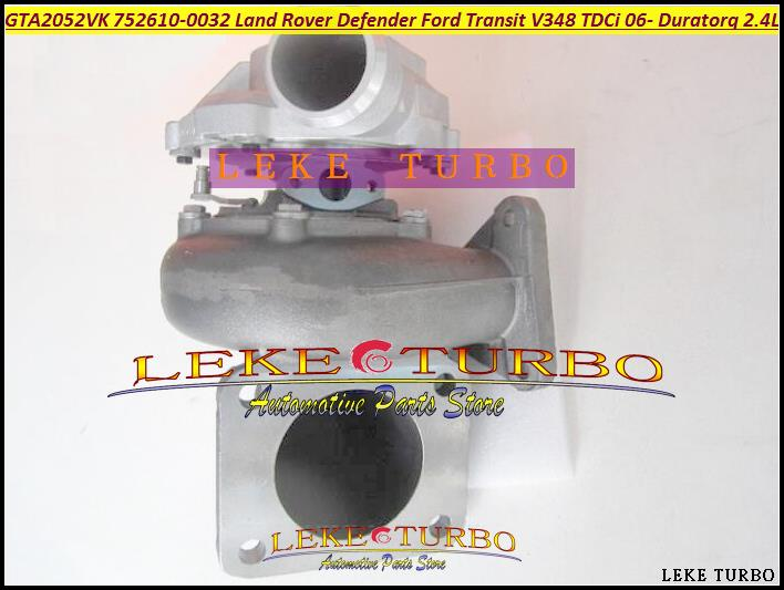 GT2052V 752610 LR010138 1435057 6C1Q6K682EH 6C1Q-6K681-EN 6C1Q6K681EN Turbo For Land Rover Defender Transit 6 DuraTorq V348 2.4L