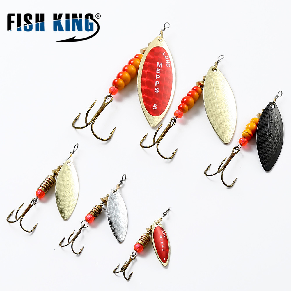 FTK MEPPS 1PC Size1# 2# 3# 4# 5# Fishing Treble Hooks Mepps Lures Sppon Tackle Peche Accessories Fishing Lure Spinner Bait Spoon a1 master bedroom living room lamp crystal pendant lights dining room lamp european style dual use fashion pendant lamps