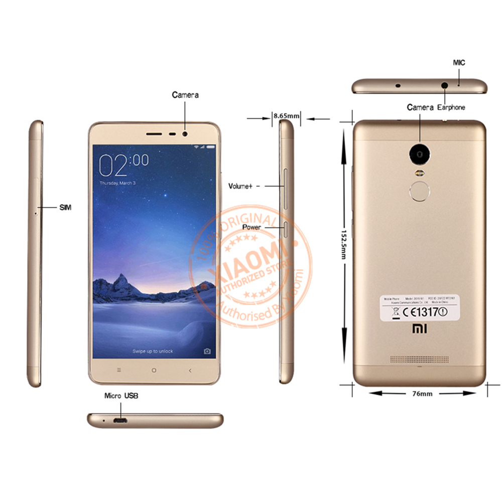 Official Global Version Xiaomi Redmi Note 3 Pro Prime Special Edition Smartphone 55 Inch 3GB 32GB 160MP B4 B20 B28 LTE In Mobile Phones From Cellphones