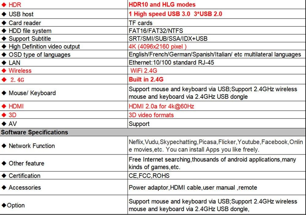 Android 8 1 Smart TV BOX Rockchip RK3328 4G RAM 32G ROM Receptor de TV 4K  1080P Wifi Medios Google Play Store IPTV youtube nexflix
