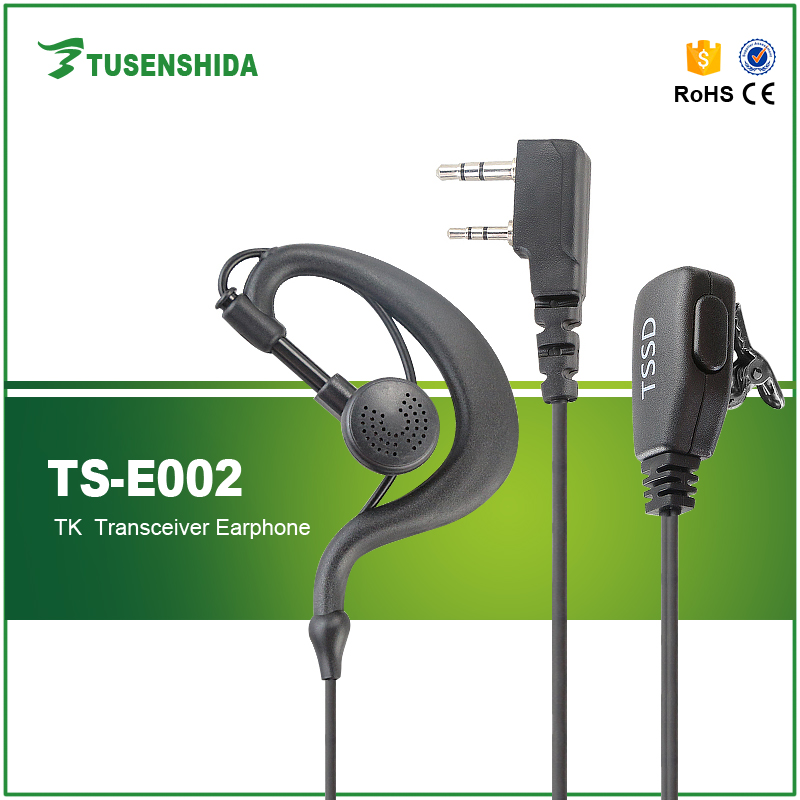 Hot Sell Earphones PTT Mic Headset UV-5R 666S 777S 888S For Two Way Radio Walkie Talkie Transceiver