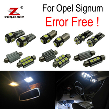 ZOOMSEEZ 12pcs license plate lamp for Opel Signum LED bulb font b Interior b font Light
