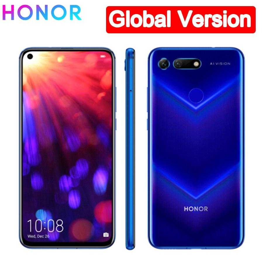Global Version  Honor V20 LTE Mobile Phone 8 RAM 256GB ROM 6.4
