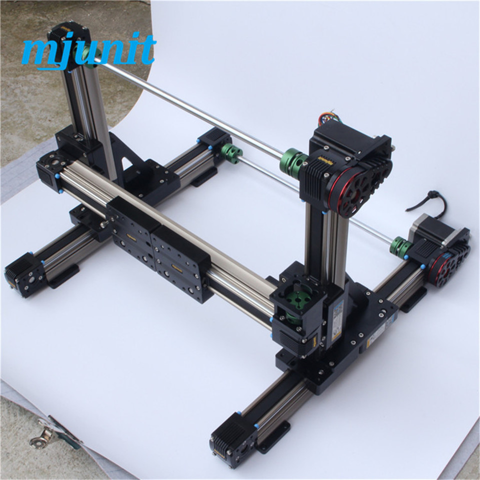 3-axis wood cnc router / 3d foam cutting machine linear guide rail 3-axis CNC Router engraving machine linear guideway linear axis with toothed belt drive belt drive linear rail reasonable price guideway 3d printer linear way