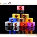 5 unids/lote Spiderman antideslizante y sin fugas e cig anillos Anillos de Banda de Gel de Silicona ecig mod decorativos y banda vape anillo de protección