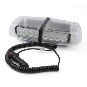12 v LED חירום Strobe מהבהב התאוששות בר מגנטי משואה