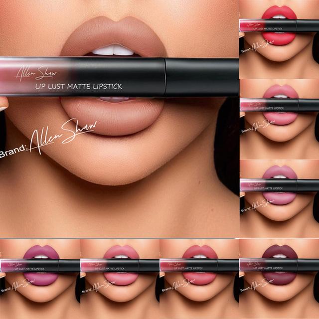 New Brand Silky Velvet  Waterproof Long Lasting Liquid Lipstick
