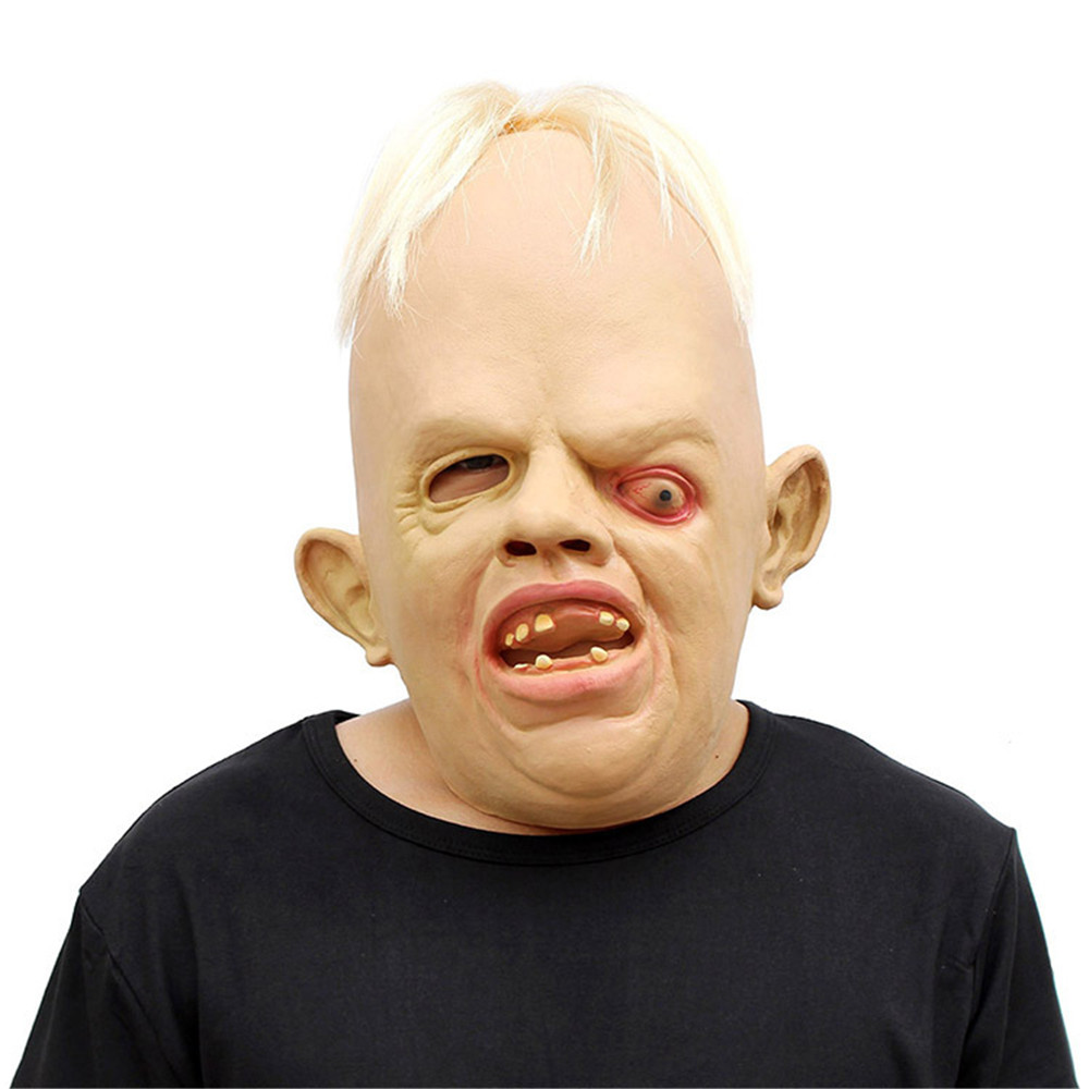 New Halloween Christmas props dance party squint horror modeling mask party mask movie props