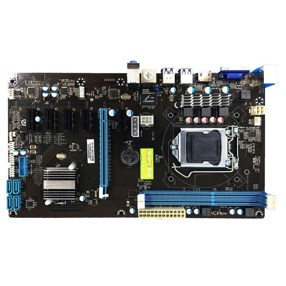 NEW CPU Interface LGA 1150 DDR3 Board Desktop Computer Motherboard 2 Channel Mainboard High Performance Computer Accessories socket lga 775 motherboard backplate iron bracket cpu