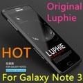 Оригинал LUPHIE Для Samsung Galaxy Note 3 III N900 Металлический Сплав Aerometal Алюминий Рамка Бампер Протектор Экрана Оболочки Телефон Case