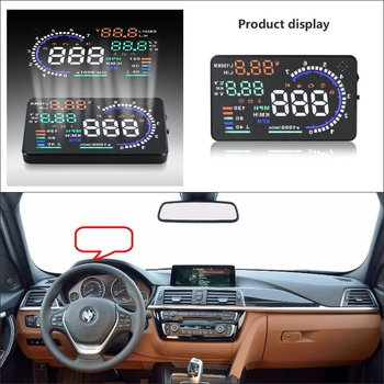 Car Computer Screen Display Projector Refkecting Windshield For BMW 3 5 7 Series 2015 2016 - Safe Driving Screen