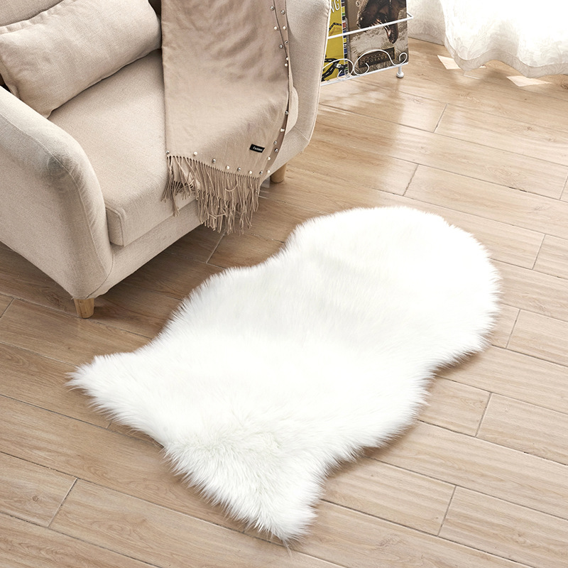 Australien Imitation laine tapis chambre salon tapis plein magasin baie fenêtre coussin bureau chaise coussin canapé coussin