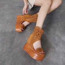 7f07bc445 2018 г. Новые летние женские сандалии в европейском и американском стиле,  открытые сандалии с