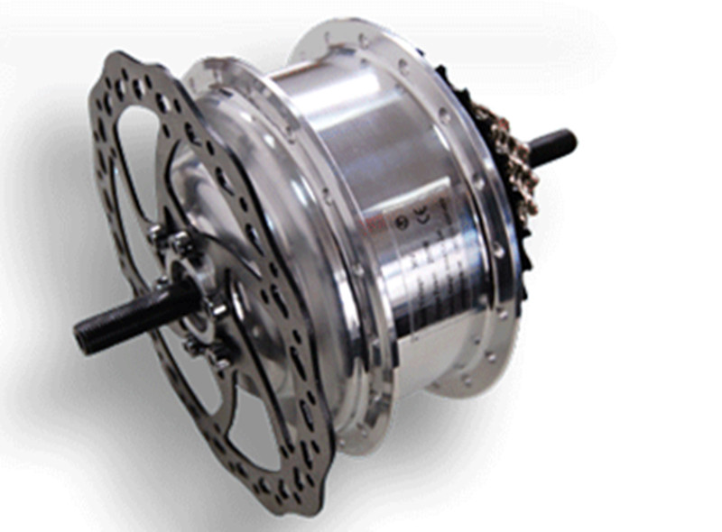 3 4kg 40kph 48v 450w disc brake brushless gear rear hub for Fastest electric bike hub motor