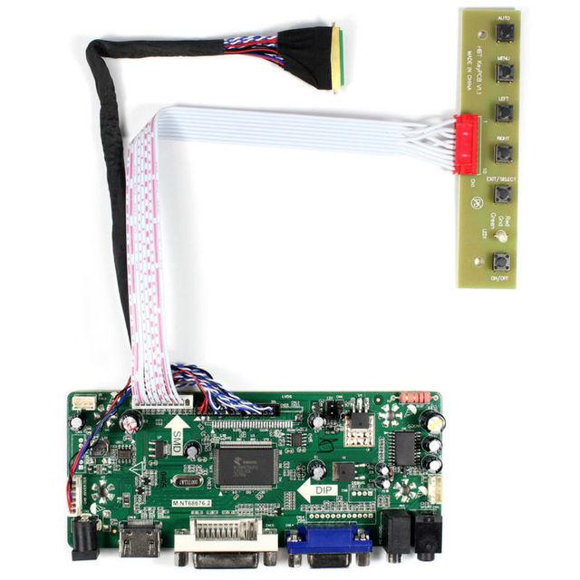 "15.6"" 1920x1080 LCD B156HW01 V.0 B/ V.4/ V.7 LP156WF1 LP156WF2 N156HGE L11 HDMI VGA DVI Audio LCD Controller board M.NT68676"