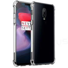 Shockproof Clear Back Cover Capa For Oneplus 7 7 pro Transparent Soft TPU Silicone Case Cover for OnePlus 3/3T/5 Coque Fundas [hk stock] soft case tpu transparent back cover for oneplus 3