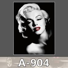 A-904 Marilyn Monroe Wasserdicht Mode Kühle DIY Aufkleber Für Laptop Gepäck Skateboard Kühlschrank Auto Graffiti Cartoon Aufkleber