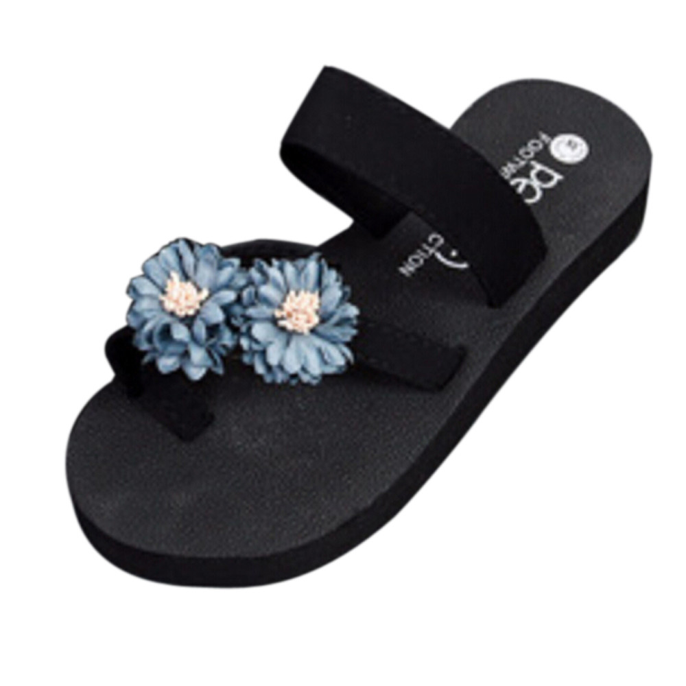 Summer slippers Beach Shoes Platform Bath Slipper Wedge Flip Flops Slippers unicornio Women Shoes flip flops sapato feminino A8 2017 women sandals shoes sapato feminino bownot wedge flip flops fashion beach women slipper shoes bohemia women s shoes flower
