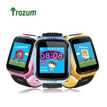 Trozum Q528 Intelligent Kids Watch with Camera Flashlight for Apple Android Smartwatch Kids Smart Electronics PK Q750 Q90 Q80