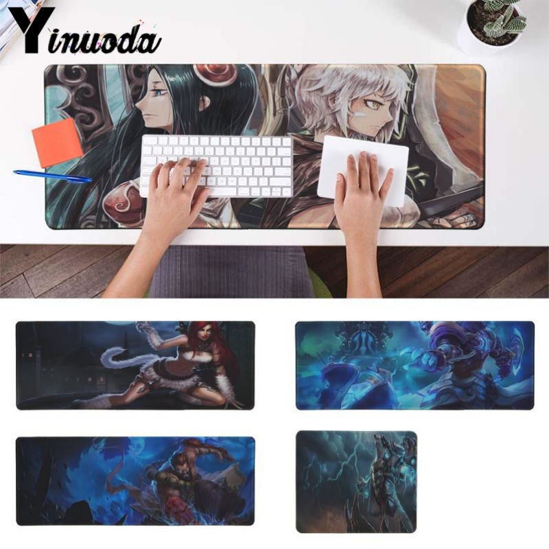 Yinuoda Custom Skin Cool Game For League of Legends Pattern Game mousepad Size for 18x22cm 20x25cm 25x29cm 30x90cm 40x90cm