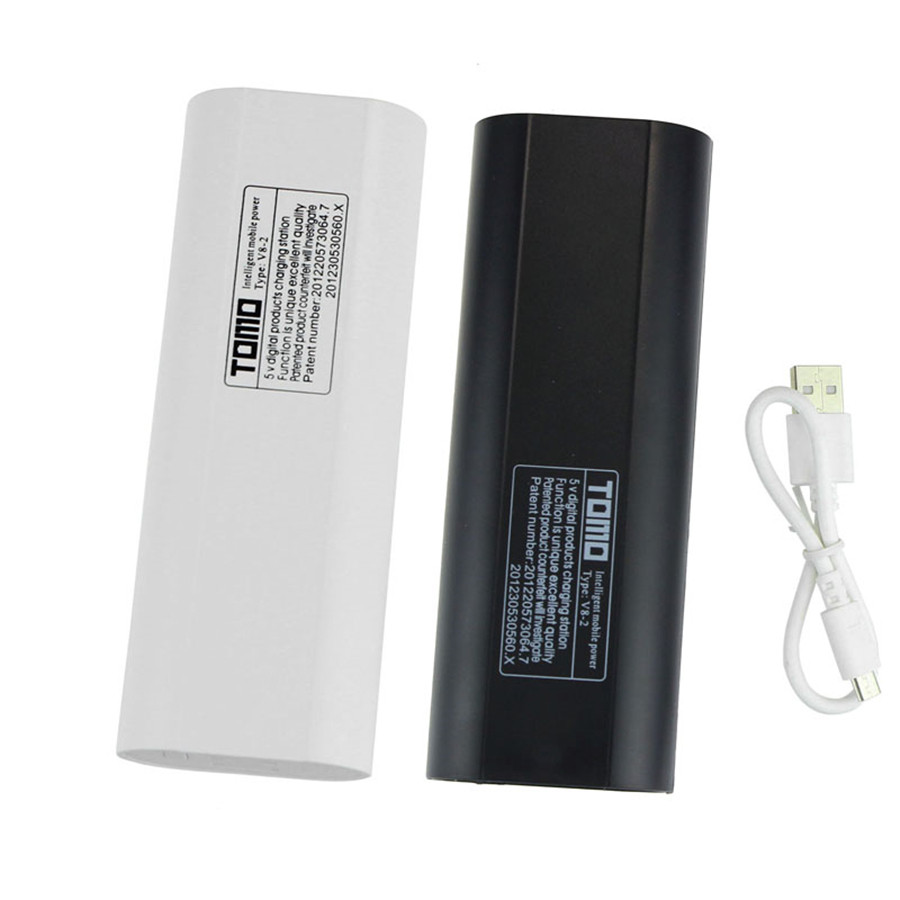 New 2x18650 LCD USB Mobile Power Bank Battery Charger Holder For Cellphone for Emergency Lighting Portable Devices Power