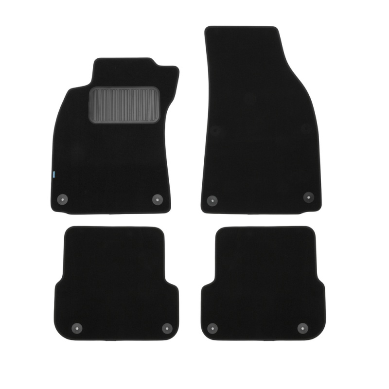 For Audi A6 (C6) 2006-2011 car floor mats carpets auto floor mat dust proof water proof car styling interior decoration